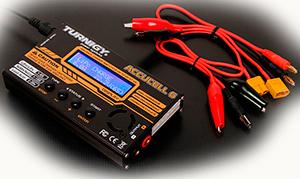 Балансное зарядное устройство Turnigy Accucel 6 50W 6A