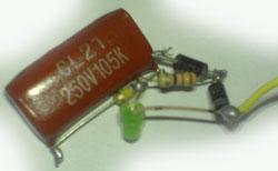 Схема светодиодный фонарик схема 192