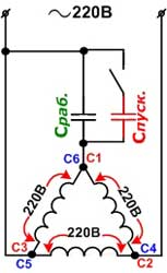 микроконтроллер в схеме регулятора оборотоа асинхронника